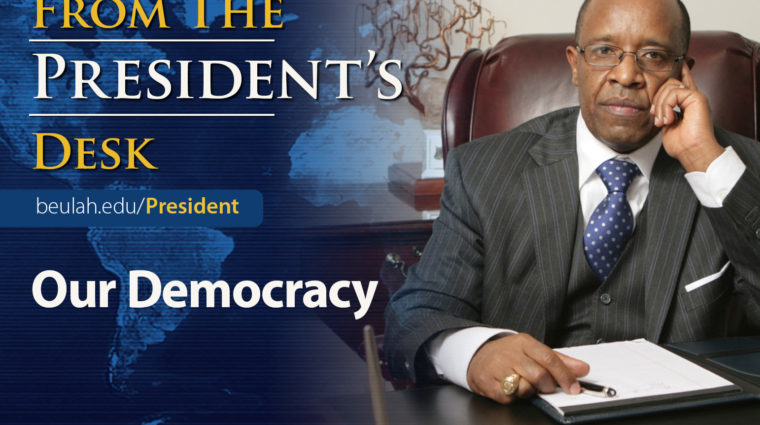 DrK Desk Feature Our Democracy