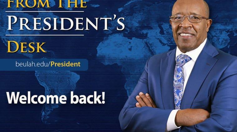 Presidents Desk Feature Welcome SU21