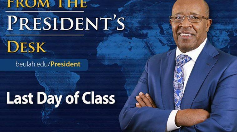 Presidents Desk Last Day SP21