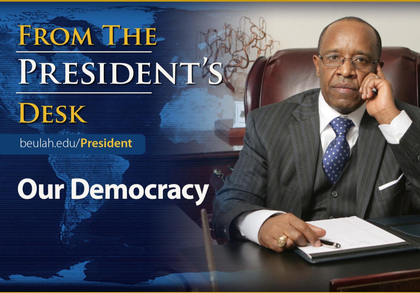 DrK Desk Feature Our Democracy