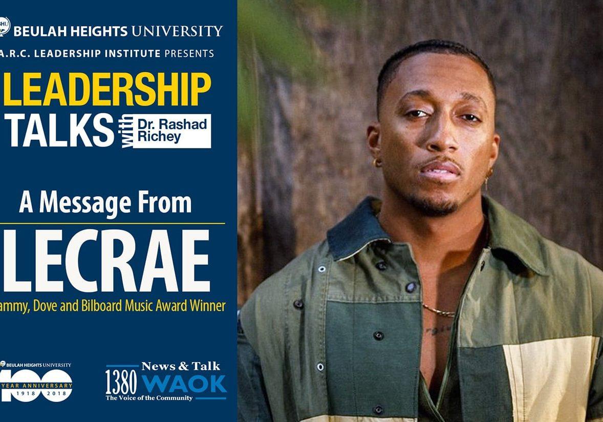 LeadTalk Lecrae Message